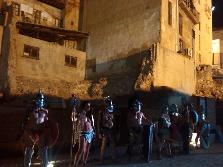 Els gladiadors a vegades també entrenaven i actuaven al circ