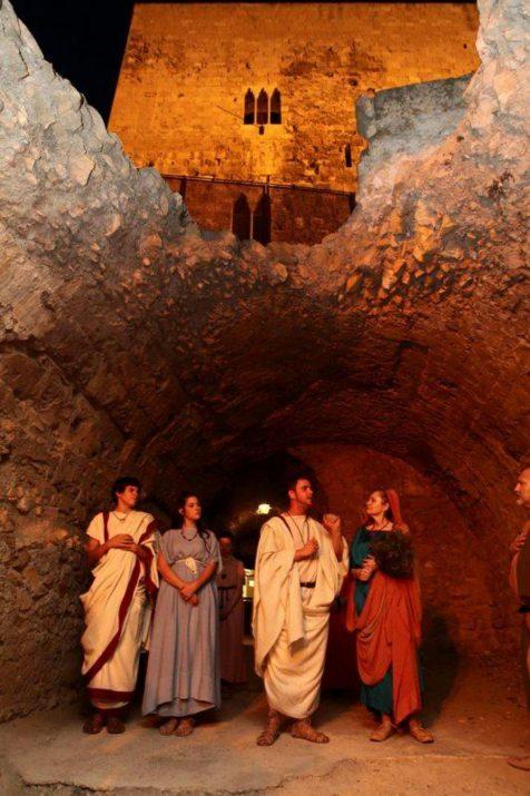 Un moment de l'activitat 'Ludi Circensis' deins del programa 'Tarragona Història Viva' (foto: Rafael López-Monné- Tarragona Turisme)