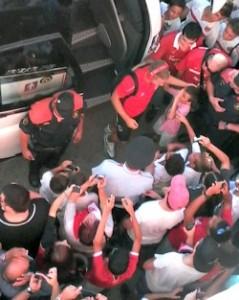 Gerard Deulofeu va ser el futbolista més buscat el dia del seu debut amb el Sevilla.