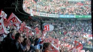 Imatge de les grades del Feyenoord Stadium (De Kuip) Foto: Nrc.nl