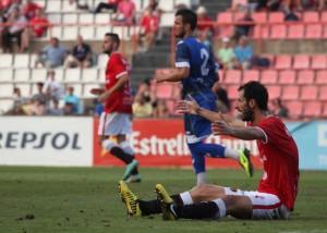 Azkorra va ser una de les novetats per intentar millorar la definició de cara a gol. Foto: Elisabeth Magré, cedida (L'Esportiu)