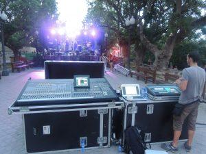 L'escenari de Barraques va presenciar ahir l'actuació de Fetitxe 13, Relamido's i Extracto de Lúpulo.