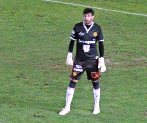 El porter Tomeu Nadal va ser un dels noms del dia. Foto: Fet a Tarragona