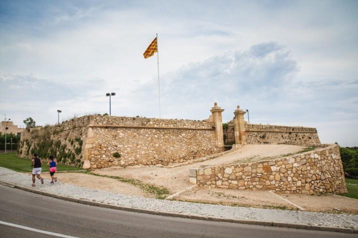 El Fortí de Sant Jordi és un dels indrets que formen part de la visita '1714: baluards i fortificacions a Tarragona' (foto: David Oliete)