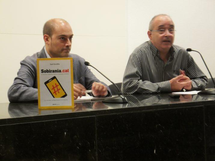 Josep Bargalló va presentar el llibre de Gordillo al Museu d'Art Modern