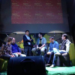 """Josep Maria Andreu a la Sala al Cau al """"Partit de Tornada"""""""