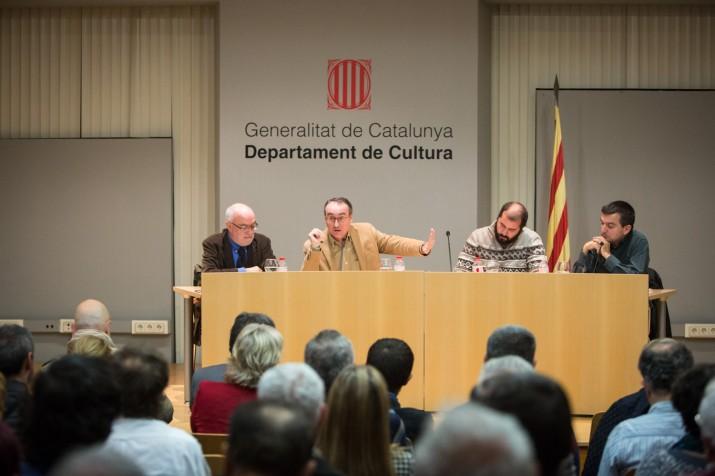 D'esquerra a dreta: Matias Vives, Jordi Jaria, Xavier Puig i Ricard Lahoz.