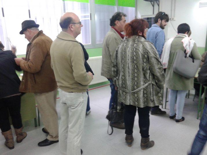 Al voltant de les meses electorals a l'IES Sant Pere i Sant Pau
