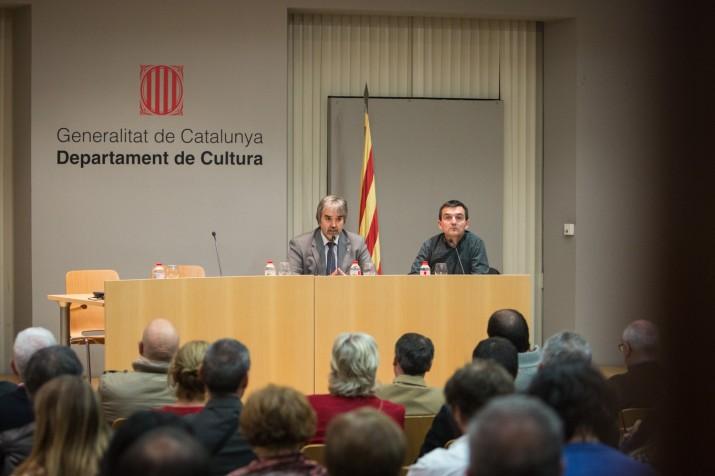 El delegat del Govern, Quim Nin, va obrir l'acte i va assistir a tot el debat (FOTO: David Oliete)