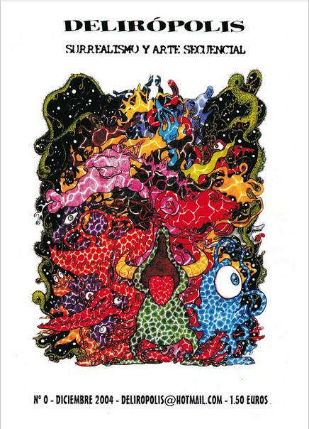 """Primer número de la revista """"Delirópolis"""", publicat el desembre de 2004, tot just farà deu anys."""
