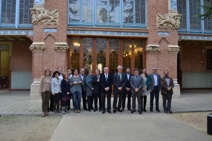 Trobada de regidors i alcaldes de Tarragona i Reus (foto: ACN)