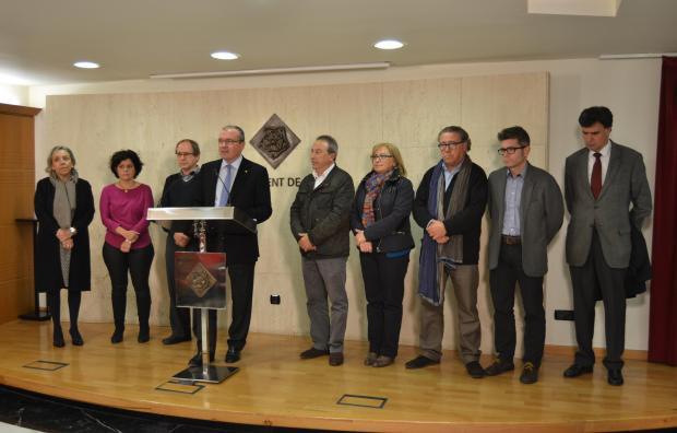 L'alcalde de Reus anuncia el trencament de l'acord de govern entre CiU i PP