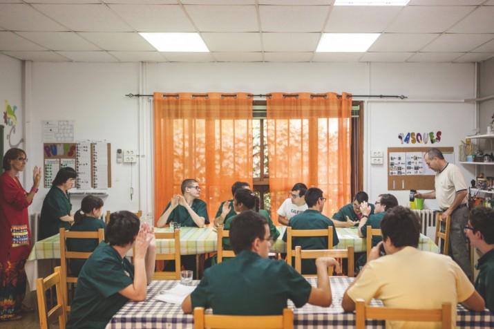 Una de les aules d'aprenentatge de l'escola Solc (foto: Agustí Arévalo)