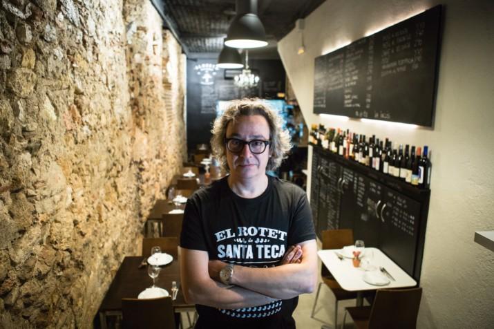 Berna Ríos, al restaurant Almosta (foto: DAVID OLIETE)