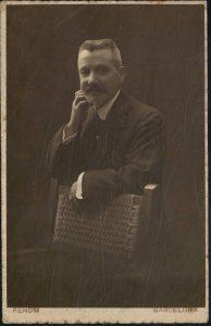 Fotografia de Raimon Casas Pedrerol (Fons Casas Pedrerol de l'Arxiu Històric de la Ciutat de Barcelona).
