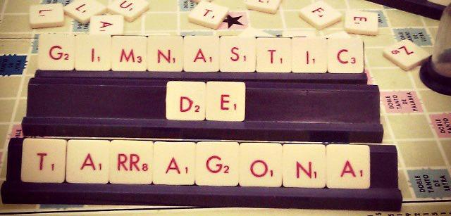 Un taulell d'Scrabble. Foto:Tere Ortega