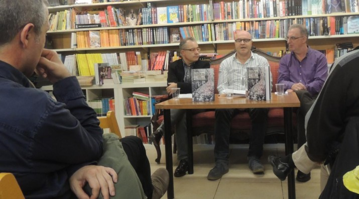 La presentació es va dur a terme el passat dijous 15 de gener, a la Llibreria de la Rambla.