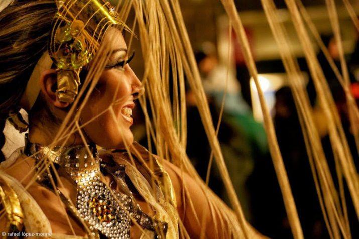 Una de les imatges de la rua de Carnaval de Tarragona del 2014 (foto: RAFAEL LÓPEZ-MONNÉ)