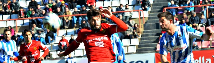 El Nàstic no ha pogut passar de l'empat davant de l'At Balears (1 a 1). Foto:Jose Maria Garcia