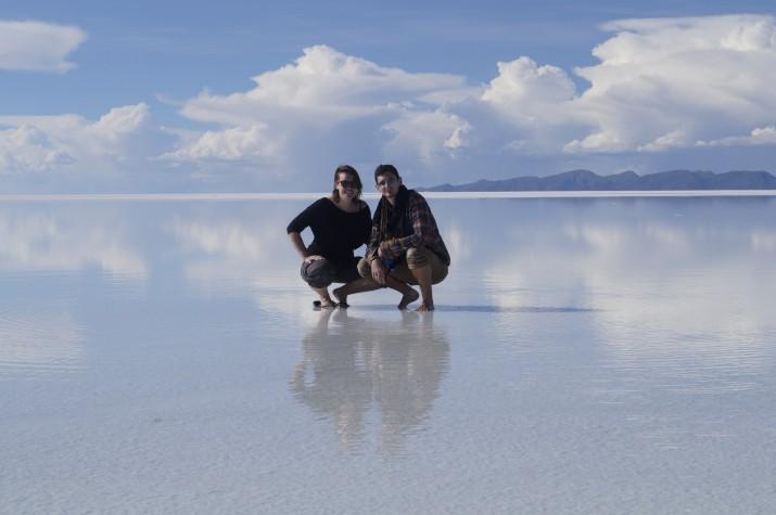 Salar d'Uyuni, a l'altiplà de Bolívia (foto cedida per GUILLEM ROQUÉ)