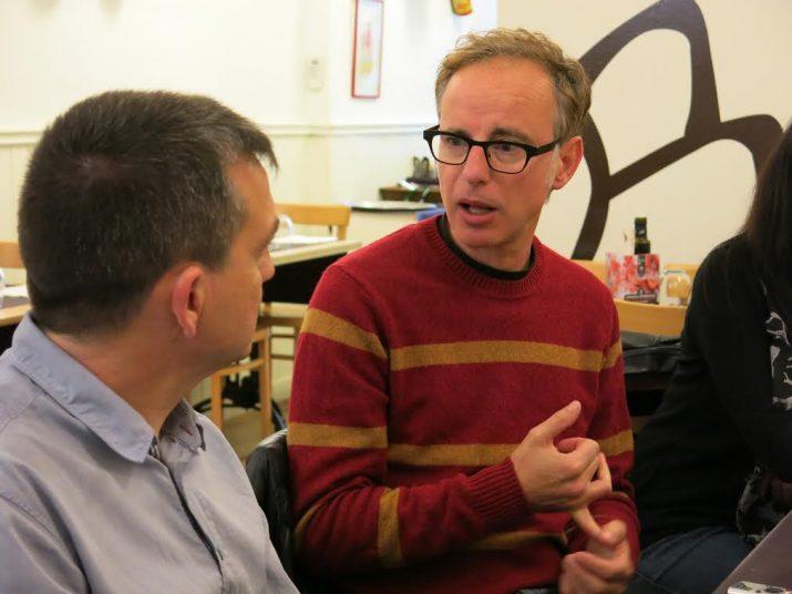 Lluis Gavaldà explica al FET a TARRAGONA la filosofia del Minipop, que enguany arriba a la cinquena edició (foto: Ivet Batet)