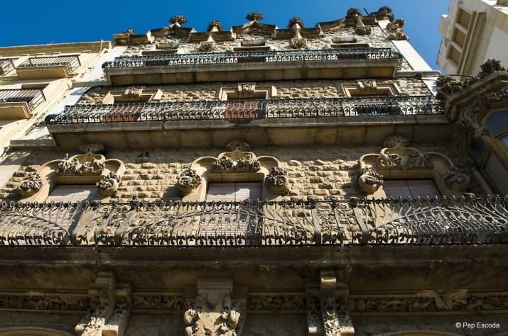 Casa salas, un dels edificis modernistes de la Rambla Nova (foto: Pep Escoda - Tarragona Turisme)