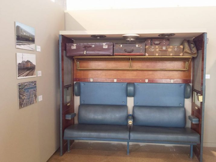 Material cedit pel col·leccionista Xavier Gavaldà que forma part de l'exposició 'Pugem al tren' que es pot veure al Tinglado 1 del Port (foto: COIA ESCODA)