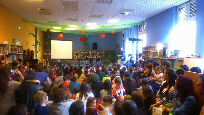 Els nens són els protagonistes de moltes activitats organitzades per la Biblioteca Pública de Tarragona (foto: BPT)