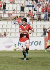Cristóbal va fer el seu primer gol amb la samarreta del Nàstic. Foto:Nàstic