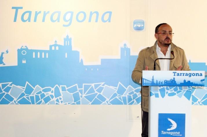 Alejandro Fernández aposta per prioritzar la lluita contra el jihadisme des de l'ajuntament de Tarragona (foto: PP)