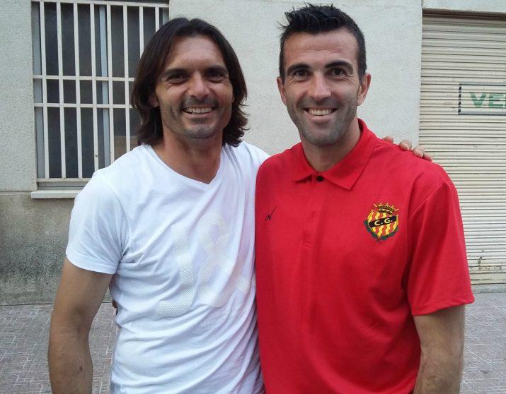 Abel i Manolo van compartir ascensos de segona B a segona A i de segona A a primera. Foto:FetaTarragona