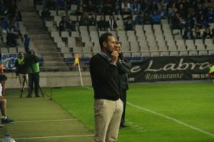 Vicente Moreno no va poder rematar una temporada rodona. Foto: Nàstic