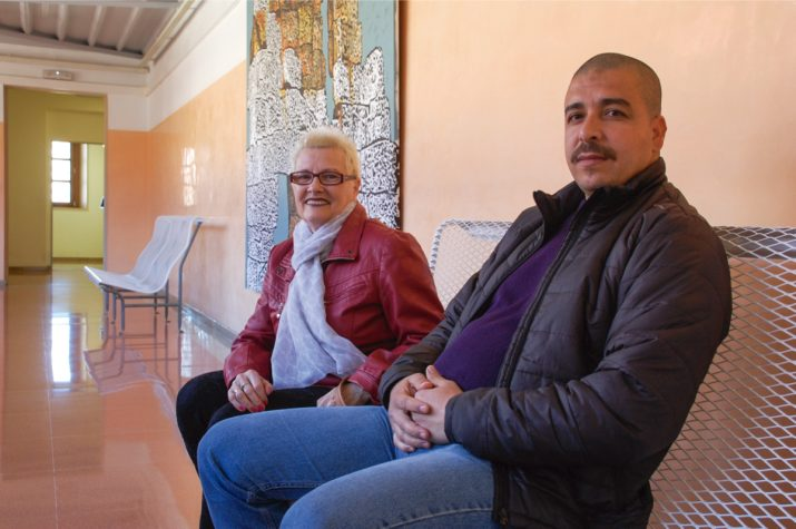La Quimeta i   , dos dels alumnes del Centre de Formació d'Adults de Tarragona