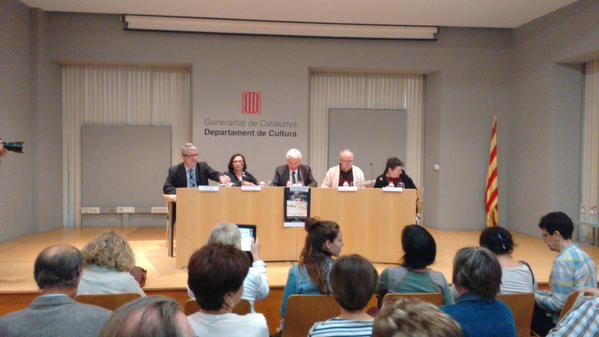 Taula rodona titulada 'La dona dels llibres' en homenatge a Teresa Rovira (foto: BPT)