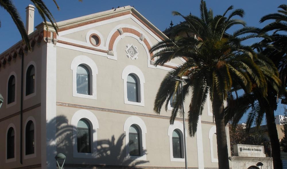 L'edifici de la Chartreuse, seu de l'EOI.