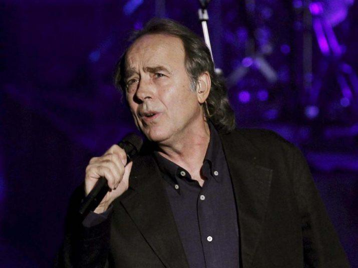 Serrat, en un concert recent (foto: Periódico correo)