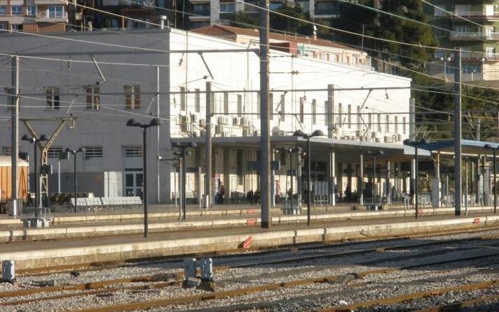 L'estació ferroviària de Tarragona.