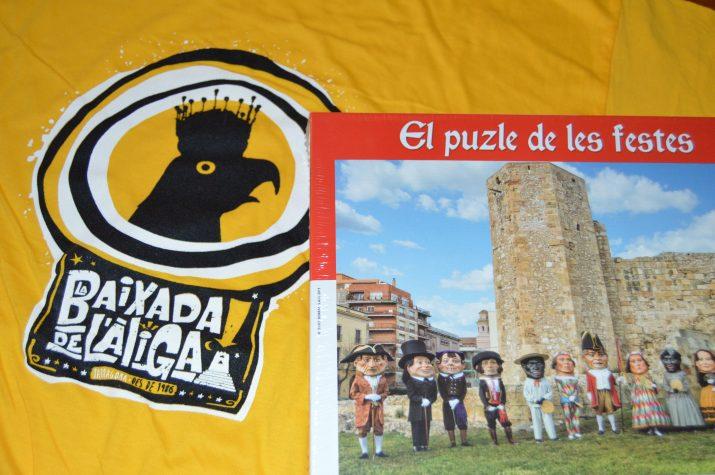La samarreta de la Baixada de l'Àliga i el puzzle de les festes, obsequis per als nous subscriptors del FET a TARRAGONA