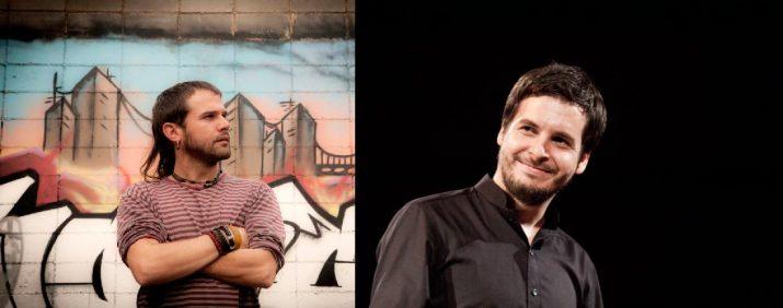 A l'esquerra, Cesk Freixas (FOTO: Juan Miguel Morales). A la dreta, Pau Alabajos (FOTO: Xepo WS).