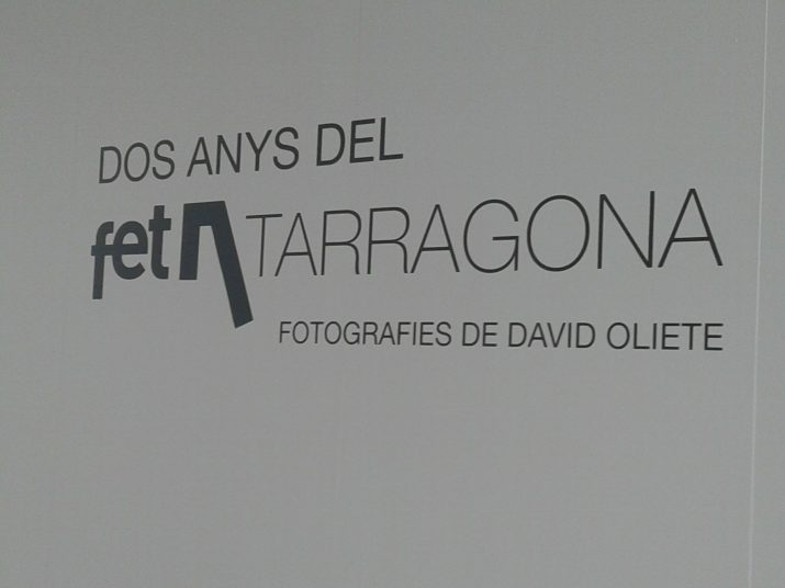 L'exposició de fotografia del FET a TARRAGONA s'inaugura aquest dimarts a les 19,30 al Tinglado 4 del Port