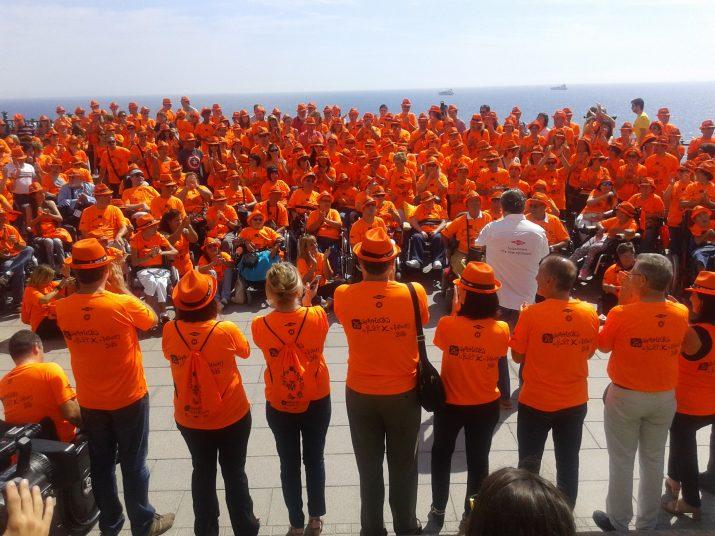 Trobada de 'la penya' Festa per Tothom al Balcó del Mediterrani el passat 12 de setembre