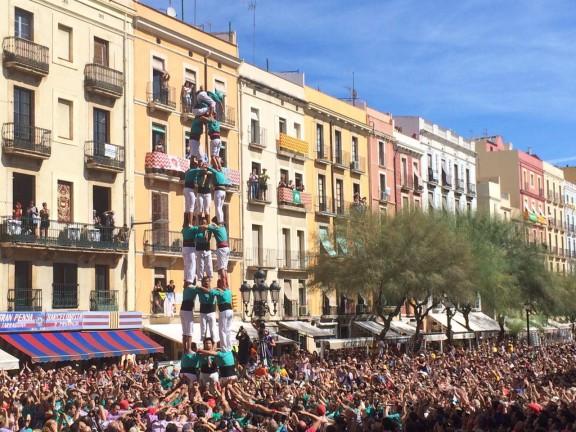 3 de 8 dels Castellers de Sant Pere i Sant Pau (Foto: DiariCasteller.cat)