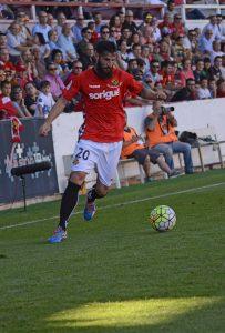 Marcos va tornar a ser decisiu. Dos gols seus han fet sumar quatre punts a casa en aquest inici de campanya. Foto:Nàstic