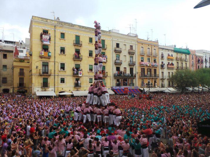 Diada Festa Major 2014 - 2de9fm carregat Xiquets de Tarragona. Foto Josep Torreño