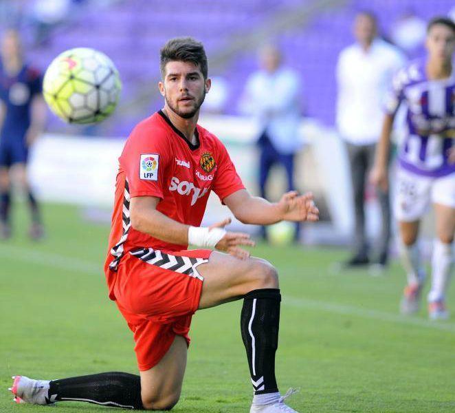 Jordi Calavera ha debutat a la LFP amb la samarreta del Nàstic. Foto:LFP