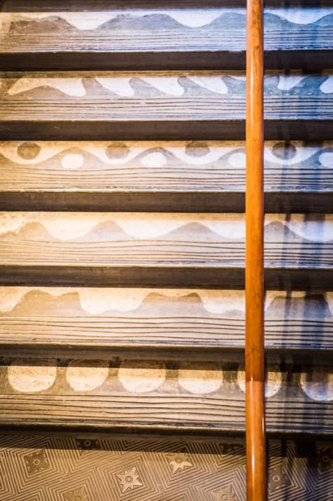 Detall del Teatre Metropol, obra de Jujol, una altre foto adquirida amb finalitat solidària (foto: DAVID OLIETE)