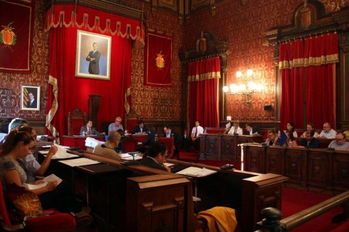 Imatge d'un plenari de l'ajuntament de Tarragona d'aquest mandat (foto: ACN)