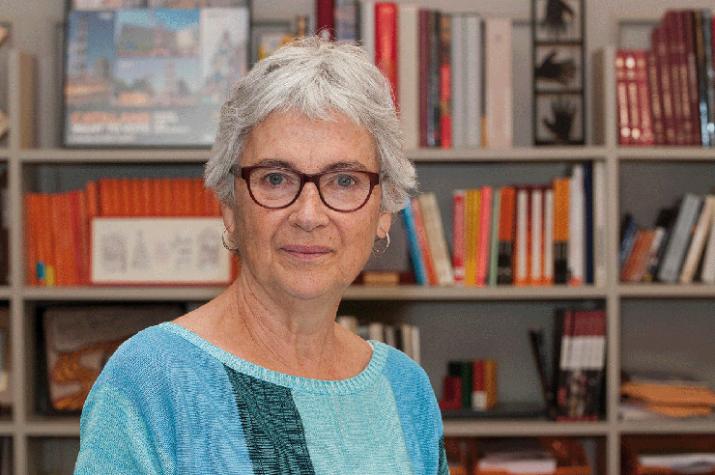 L'expresidenta d'Òmnium Cultural i diputada electa a la llista Junts pel Sí, Muriel Casals. Fa dècades, Casals va militar al PSUC (foto: cedida)