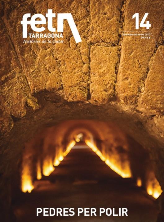 Coberta del número 14 de la revista FET a TARRAGONA (foto: David Oliete)