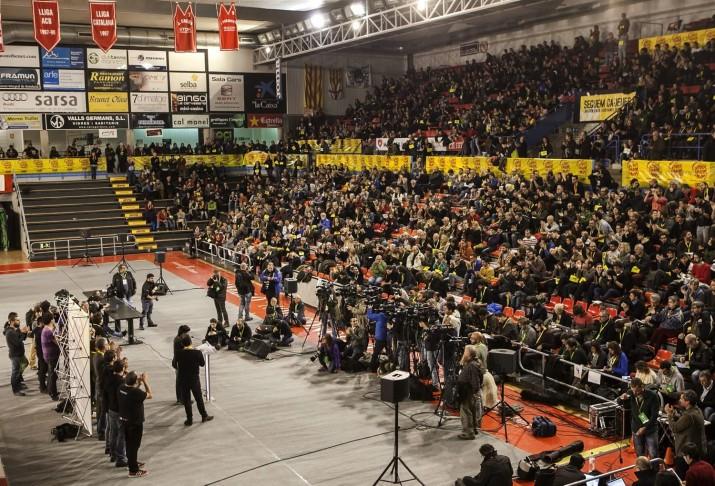 Assemblea de la CUP del passat mes de novembre celebrada a Manresa (foto: diari ARA)